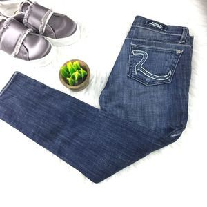 Rock & Republic Ciggy Cropped Skinny Jeans Crop 25